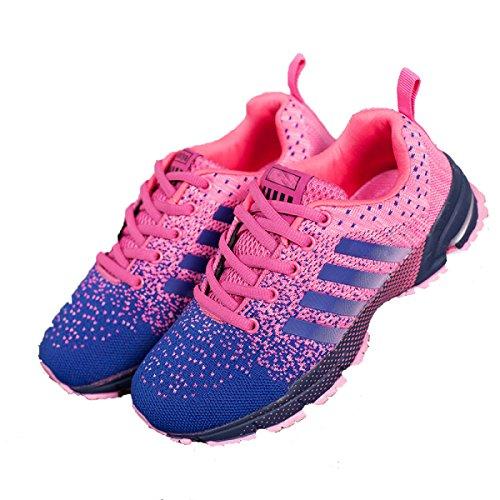 La Sra CHT Zapatos Deportivos De Primavera Y Otoño Los Amantes Casuales Pink