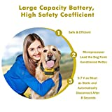 ColPet-Dog-Training-Collar-ColPet-330yard-Rechargeable-and-Waterproof-Remote-Dog-Shock-Collar-with-Beep-Vibration-and-Shock-Electronic-Collar-OrangeYellowBlack