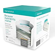 Nanobebe 25-Pack Breast Milk Storage Bags and Organizer