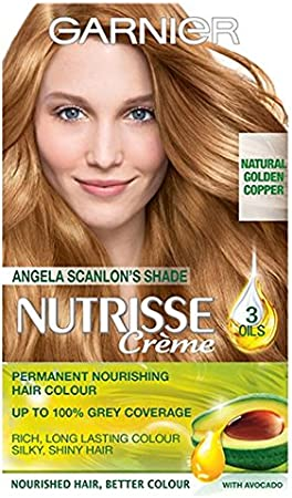 Garnier Nutrisse Creme 7,3 oscuro Golden Blonde: Amazon.es ...