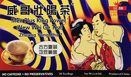 Men Plus King Power Tea (20 tea bags) - 1 box (Best Herbs For Male Sexuality)
