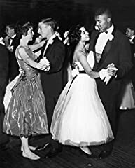 Racial Integration, 1959. /Ntwo White Students Visiting From Charlottesville, Virginia, Enjoying A Senior Prom At An Integrated High School In Atlantic City, New Jersey, 1959. is a licensed reproduction that was printed on Premium Heavy Stock...
