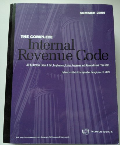 The Complete Internal Revenue Code Summer 2009