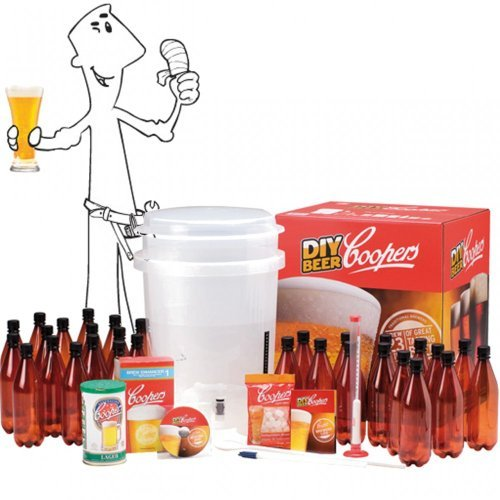 Coopers DIY Micro Brewery Beer Kit by Coopers (Kit Microbrewery)