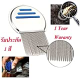 LUPADU ORIGINAL Nit-Free Terminator Comb - Proven the Best Lice Comb on the Market! Get Rid of Head Lice & Nits Easily with this Professional Stainless Steel Comb