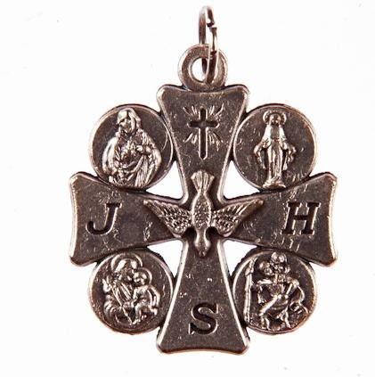 Espíritu Santo medalla. Medalla De Santos. Roman Catholic Saints medalla. Varios imágenes de Santos. Devotional GiftsUK