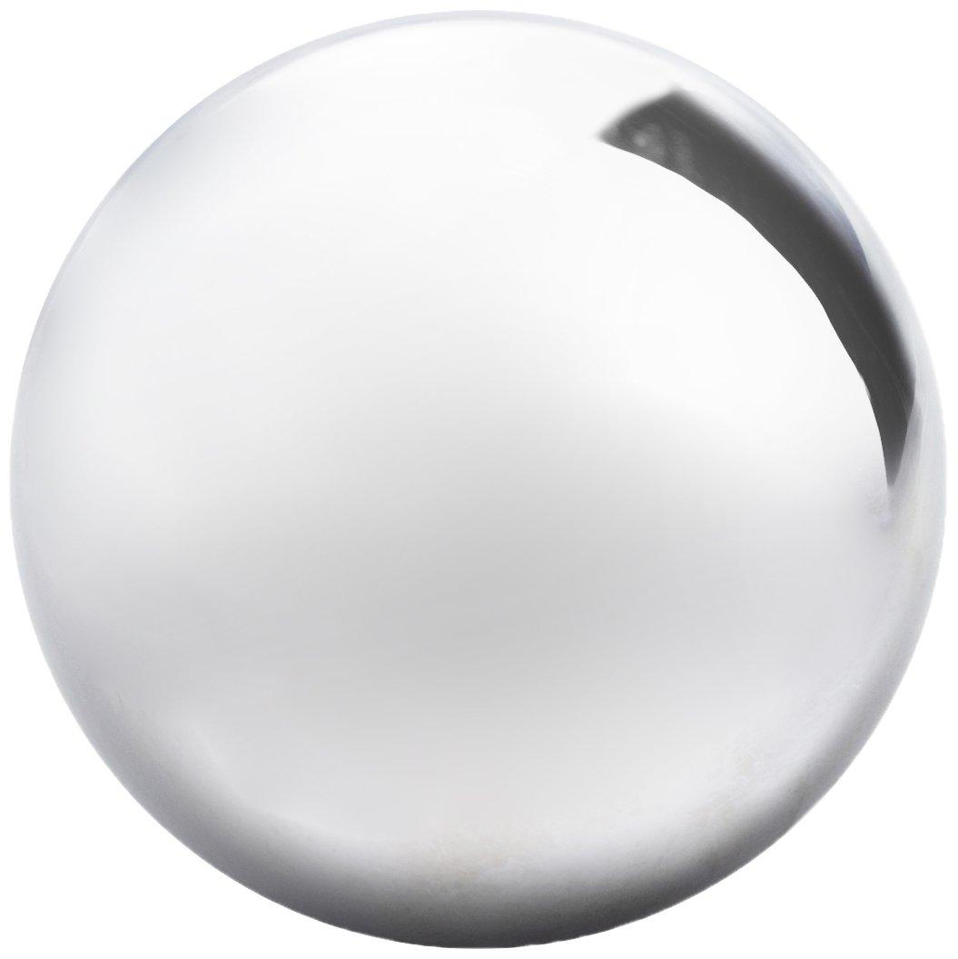 Abbott Collection Garden Gazing Ball, Silver (Large)