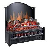 Pleasant Hearth Electric Log Insert with Heater, LI-24