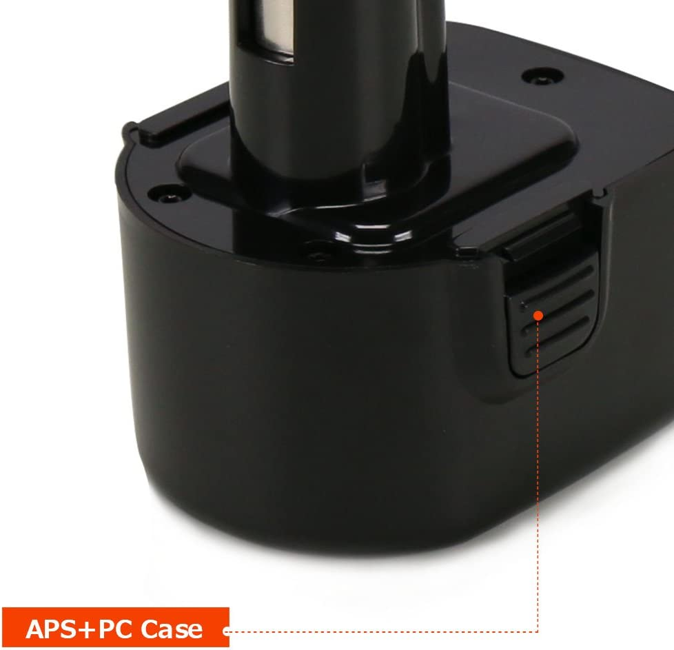 POWERAXIS PS130 12V 3000mAh NIMH Replacement Battery for Black /& Decker A9252 A9275 PS130 PS130A Firestorm PS130