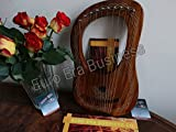 New Euro Era Rosewood Lyre Harp 10 Strings Metal/ Lyra Harp
