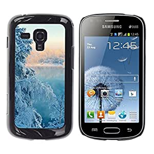"For Samsung Galaxy S Duos S7562 , S-type Naturaleza nieve del invierno Árbol"" - Arte & diseño plástico duro Fundas Cover Cubre Hard Case Cover"