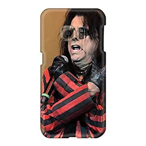 TammyCullen Samsung Galaxy S6 Best Hard Phone Covers Allow Personal Design Stylish Alice Cooper Band Skin [EZT8914REZy]