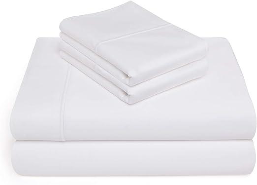 Vivendi algodón egipcio 1000 hilos 4 piezas Juego de sábanas ...