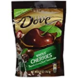 Dove Real Fruit Dipped in Dark Chocolate - Whole Cherries - 6 oz