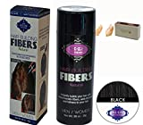 Piz-zaz Keratin Natural Hair Fibers +Itay Mineral Cosmetics Nail Shiner Buffer (Black) For Sale