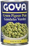 Goya Green Pigeon Peas, 15 oz
