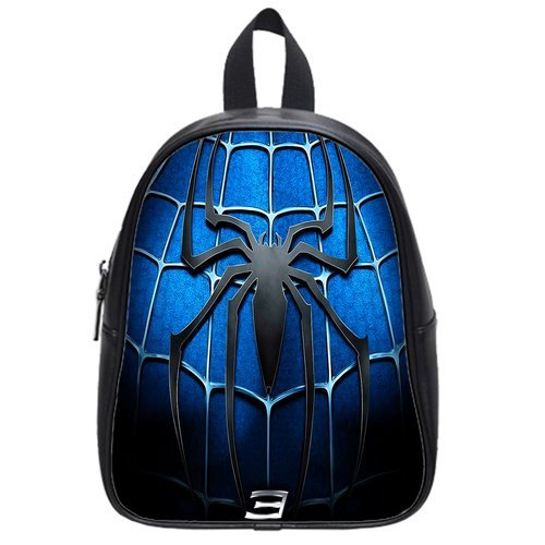 Super Hero Spider-Man Logo Custom Kid's School Bag/Travel Bag/Shoulder Bag/Backpack 15*12*5 inches(Large Size)