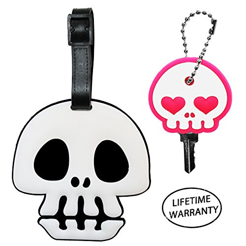 diyjewelrydepot-1-pc-skull-pvc-large-size-suitcase-luggage-name-id-tag-cute-for-travel-or-schools