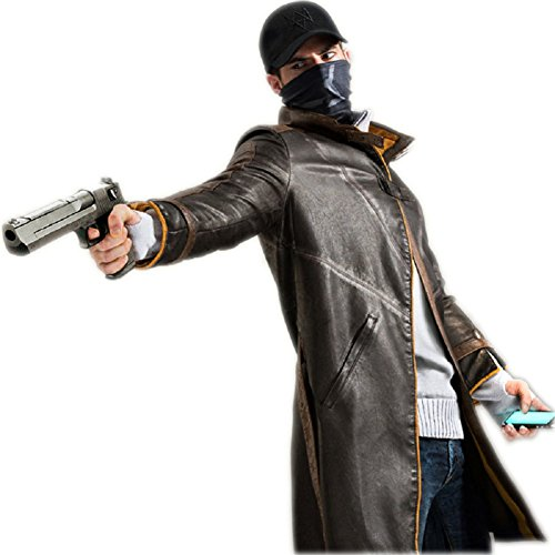 Horries WD Men's Long Sleeve Coat Cosplay Costume - Delivery Man Dog Costume