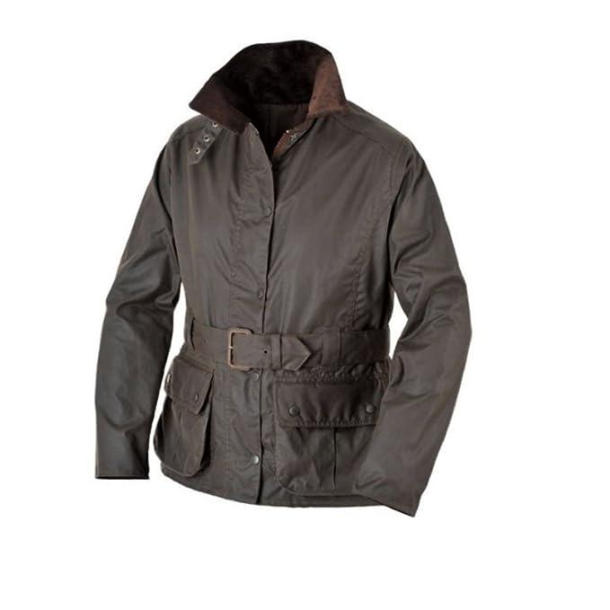 Alan Paine chaqueta de traje de neopreno para mujer Alnwick de cera