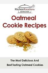 Oatmeal Cookie Recipes Kindle Edition