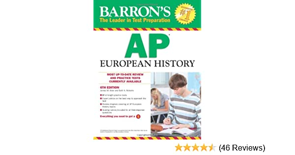 Amazon barrons ap european history 6th edition barrons amazon barrons ap european history 6th edition barrons study guides 9780764146978 james m eder seth a roberts ma books fandeluxe Gallery