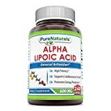 Cheap Pure Naturals Alpha Lipoic Acid 600 mg Capsules, 240 Count