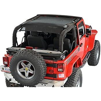 Amazon Com Spiderwebshade Jeep Wrangler Mesh Shade Top Sunshade Uv