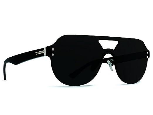 6366079d69 Amazon.com  Von Zipper ALT PSYCHWIG Sunglasses (BLACK GLOSS GREY ...