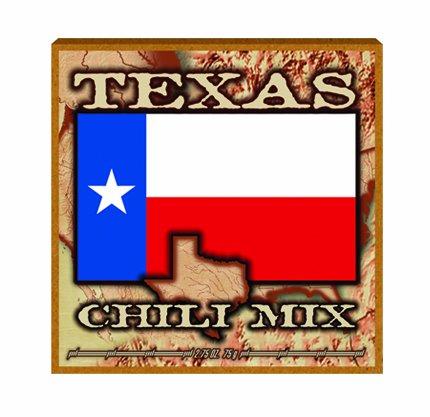 12 Pack TEXAS FLAG Championship CHILI MIX 2.75oz