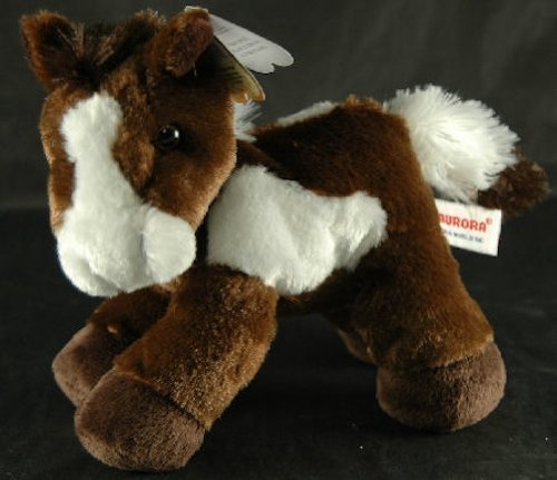 Aurora Plush Paint Horse Mini Flopsie 8 by AURORA (Horse Paint Plush)