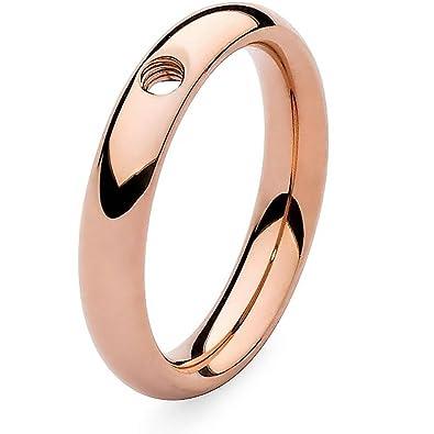 Qudo Rose Gold Plated Interchangeable Slim Ring 627055 miNzjEN7cc