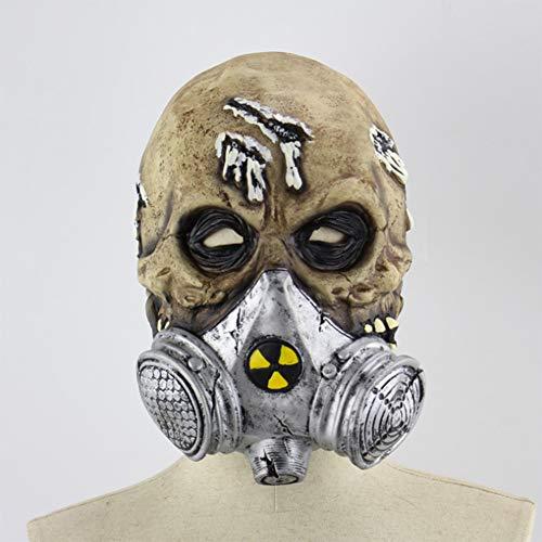 F&W Halloween Mask Halloween Biochemistry Horror Ghost Party Dance Latex -