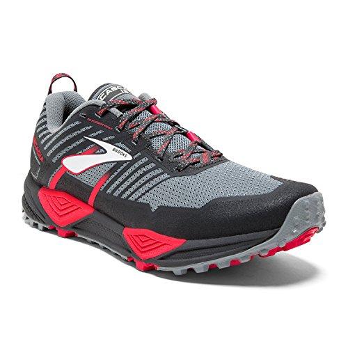 1B BRK Cascadia 13 Shoe 10 120274 Brooks PNK 40817B0 Gry Women's 091 Trail Gry w5p4qxcX0