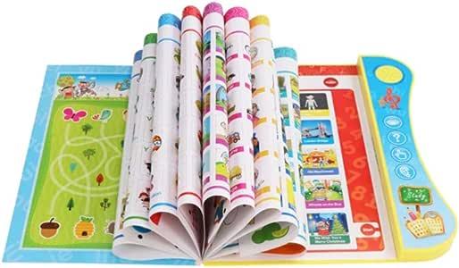 NUOBESTY - Libro de Lectura para niños con lápiz