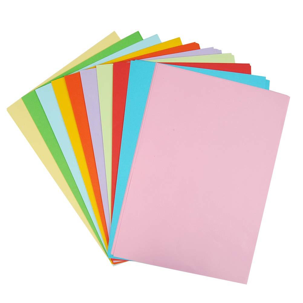 Yotino Papier Plié En Couleur A4 100 Feuilles Papier Origami