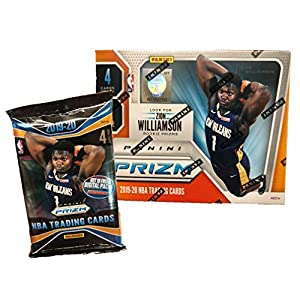 2019-20 Panini PRIZM Basketball Blaster Box – In Stock – 1 Autograph or Memo. Card Per Box – Chase ZION WILLIAMSON Prizm Rookie Cards