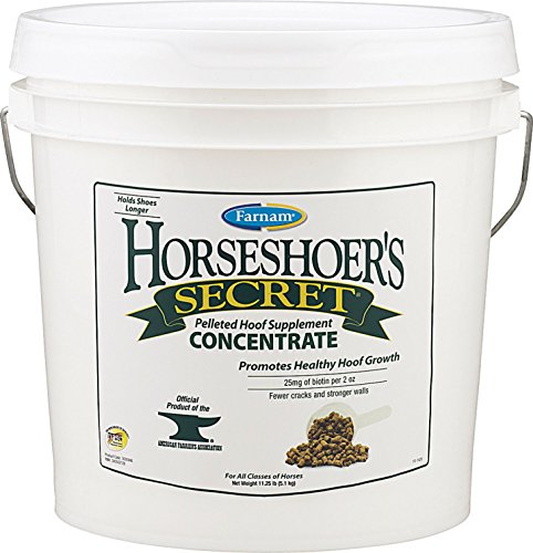 Equine Supplements Hoof (Horseshoer's Secret Hoof Supplement Concentrate, 11 Pound)