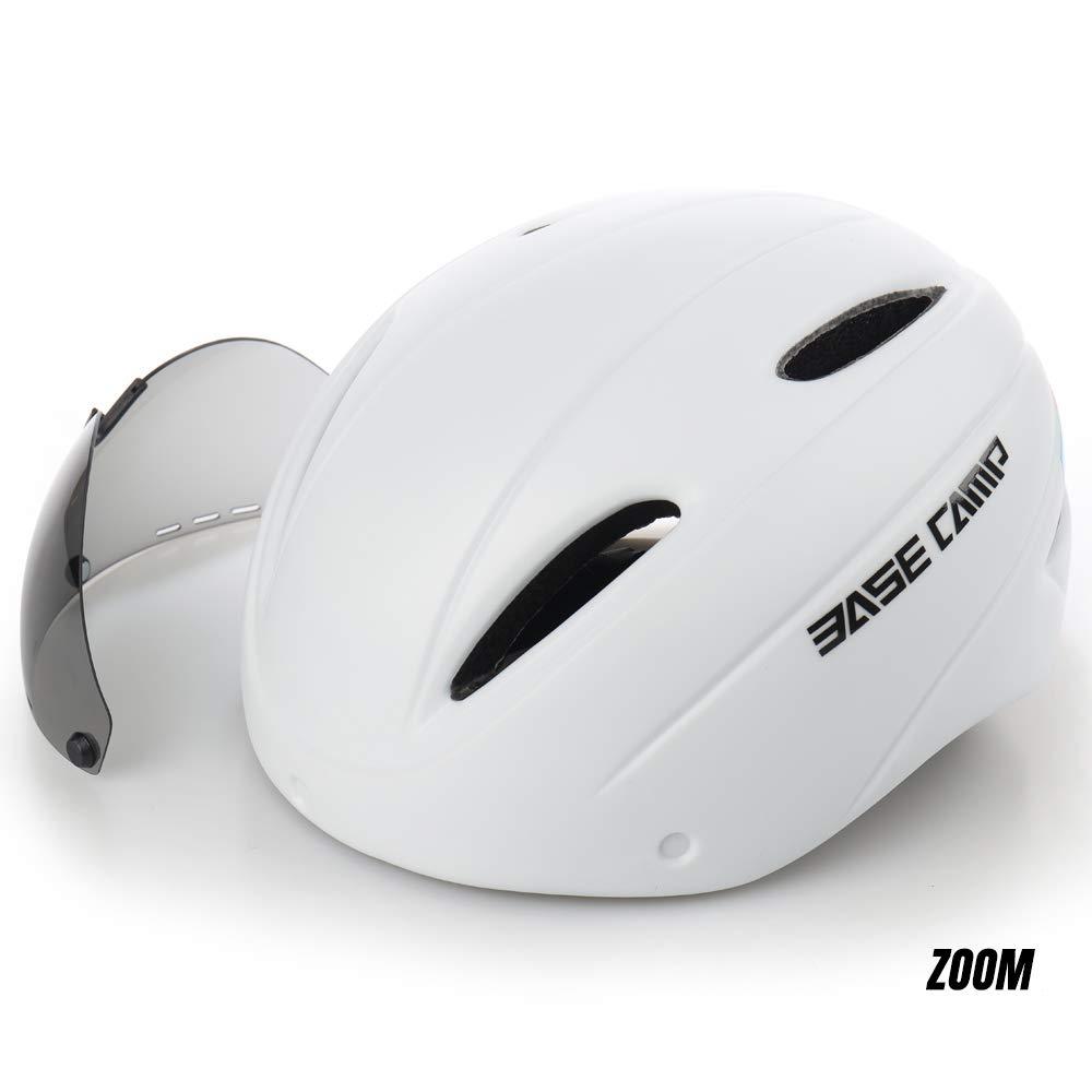 Basecamp Zoom Cascos Ciclismo con Visera Protectora removible: Amazon.es: Deportes y aire libre