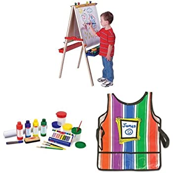 Amazon Com Deluxe Easel Bundle With Accessories And Smock