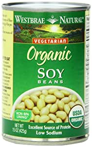 Amazon Com Westbrae Natural Organic Soy Beans 15 Ounce