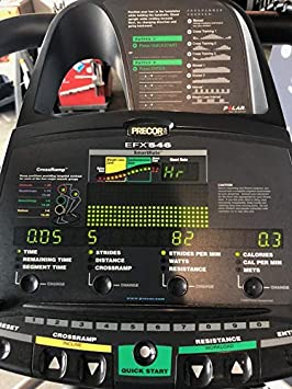 Precor EFX 546 Elliptical Heart Rate Version 3 Cordless – Remanufactured