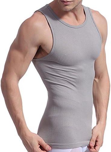 Smato タンクトップ メンズ Uネック 加圧インナー 補正インナー 姿勢矯正 インナーシャツ スポーツシャツ アンダーウェア