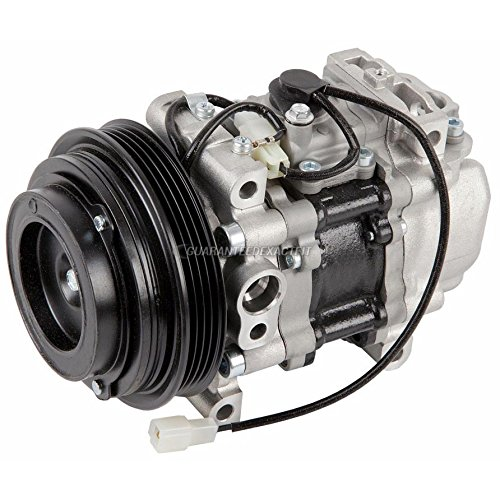Mazda Miata Ac Compressor (Remanufactured Genuine OEM AC Compressor & A/C Clutch For Mazda Miata - BuyAutoParts 60-01500RC Remanufactured )