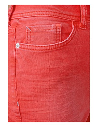 Red One Street Donna Jeans Slim hibiscus Washed 11446 Rosso xvxw4fYRq