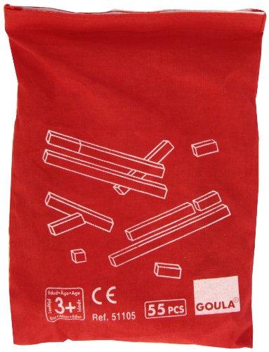 Goula - 51105 - Jeu Éducatif et Scientifique - Sac Individuel Réglettes 10x10