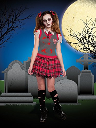 [SugarSugar UC Dead People Costume, X-Large] (Zombie School Girl Costumes)