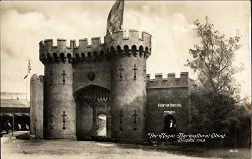 The Royal Agricultural Show 1913 - Port of Bristol - Entrance United Kingdom Original Vintage Postcard Bristol Entrance