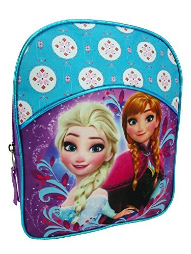 cfed9090e1b Disney Frozen Children Backpack Mini School Bag Kids - Purple Blue (Frozen  Sisters Anna