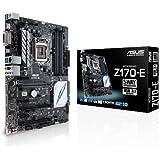 ASUS Z170-E Intel Z170 DDR4 ATX Motherboard - Black/Grey